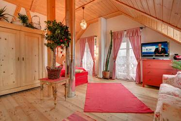 Munich-Hadern: Generously sized 1-room apartment (60sqm) in country house style