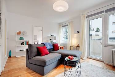 In the heart of Gärtnerplatzviertel: Very beautiful 1-room apartment, furnished with great care