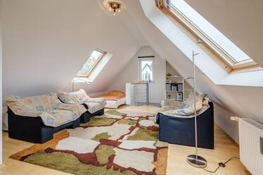 Attractively furnished 1- attic apartment  München Laim