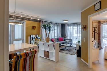 Near Arabellapark: stylish and elegant 2-room apartment
