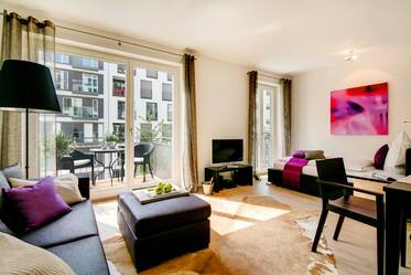 Premium: exclusive, high-quality furnishings 1-room apartment in Munich Maxvorstadt