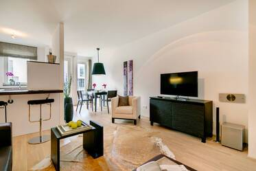 Premium apartment with high-quality furnishings and good technical equipment