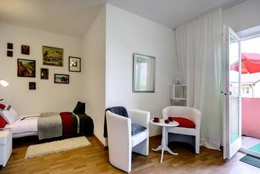 Lovely 1-room studio apartment in central Untergiesing - 5 minutes to Candidplatz U1