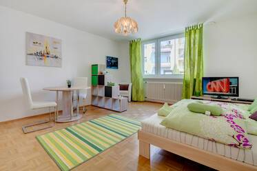 Beautifully furnished 1-room apartment in Munich Au-Haidhausen