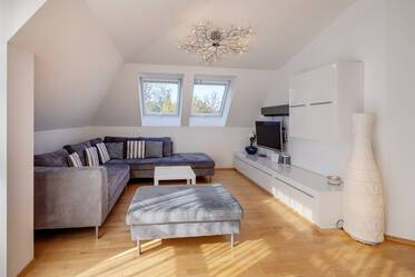 Very spacious 4-room apartment with roof terrace