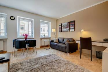 Beautiful furnished apartment centrally located in Maxvorstadt, incl. Internet flat and wash/dryer combo