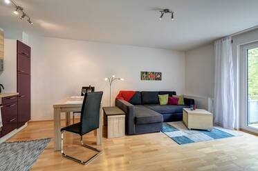 Untermenzing: High-quality furnished 2-room apartment with highspeed internet