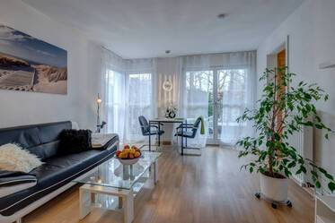 High-quality studio apartment with terrace