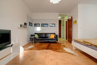 Beautiful 1-room apartment with small terrace in good location Munich Obergiesing