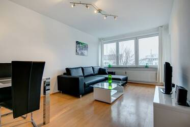 Beautifully furnished 2-room apartment in Munich Au-Haidhausen