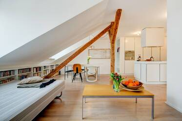 Modern and tasteful top floor apartment near Josephsplatz