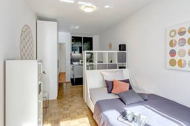 Stylish 1-room apartment in Solln