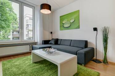 Top location in Haidhausen: Modern style furnished 2-room apartment