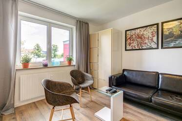Lovely, furnished 2-room apartment in Munich-Haidhausen, near Munich East