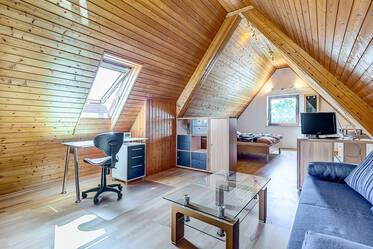 Sunny, quietly located attic apartment with internet