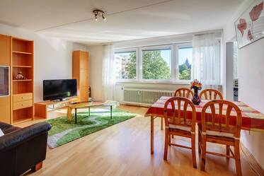 1-room apartment with excellent traffic connection
