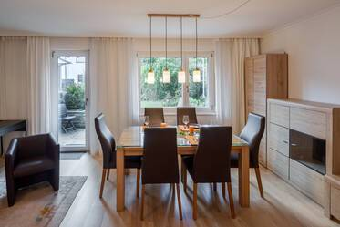 Nicely furnished corner townhouse in Ramersdorf