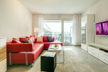 Bright, high-quality 3-room apartment in new residential area in Munich-Obersendling
