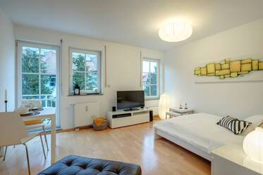 In the west of Munich: attractive apartment with balcony