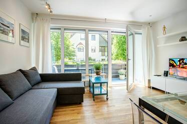 Modern 3-room apartment near the English Garden