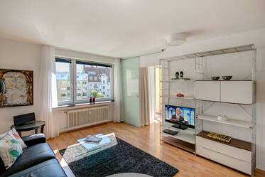 Nicely furnished 1.5- apartment  München Schwabing-West