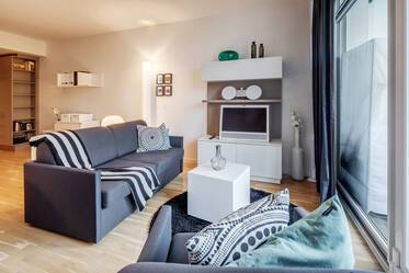 Beautifully furnished 1-room apartment in Munich Bogenhausen