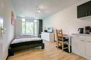 Attractively furnished 1-room studio in Munich Isarvorstadt