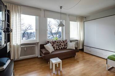 1-room apartment with new kitchen in great location Hadern/Sendling-Westpark