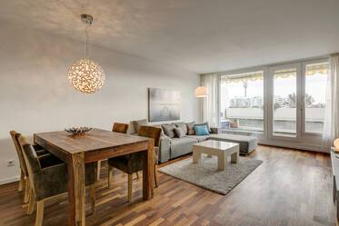 Beautifully furnished 2-room apartment in Munich Olympiadorf