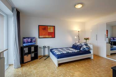 Nicely furnished 1-room apartment in Munich Waldtrudering