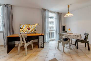 Munich-Neuhausen, in a good location near Olympiapark: furnished 1-room apartment