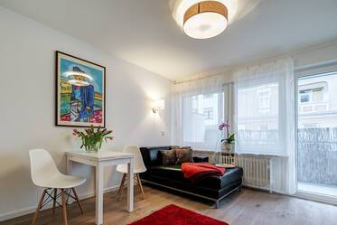 Munich-Obersendling, near the Isar: High-quality furnished 1-room apartment