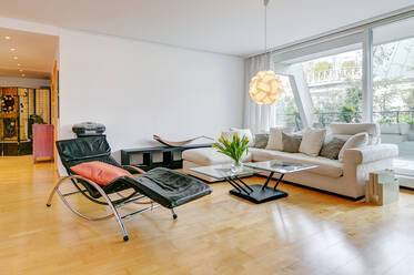 Beautifully furnished 2-room apartment in Munich Schwabing