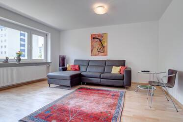 Very beautiful 3-room apartment west of the city center in Munich-Großhadern