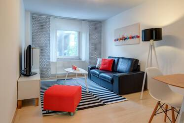 Top location between Gärtnerplatz and Isartor: modern 2-room apartment with balcony