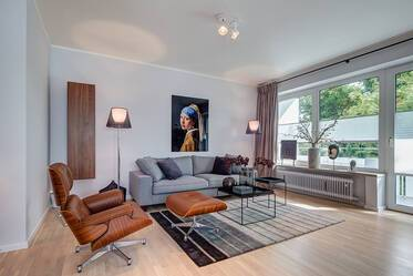 Premium: luxuriously furnished 3-room apartment in Munich Schwabing