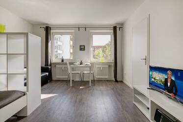 Beautifully furnished 1-room apartment in Munich Obergiesing