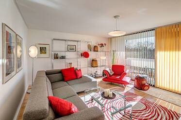 First-time occupancy: light-flooded 3-room apartment directly at the Luitpoldpark in Munich-Schwabing