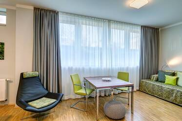 Ismaning: modern, attractively furnished studio apartment