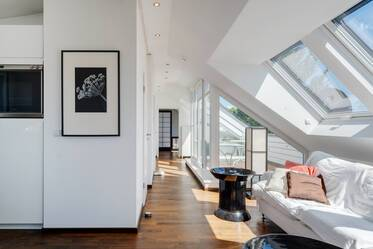 2-room roof-terrace apartment in Untermenzing