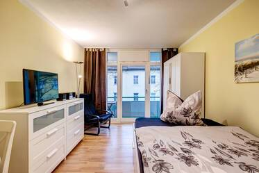 Lovely apartment with furniture like new and internet included in Munich-Isarvorstadt