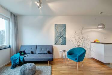 Modern apartment with parking space right by Luitpoldpark