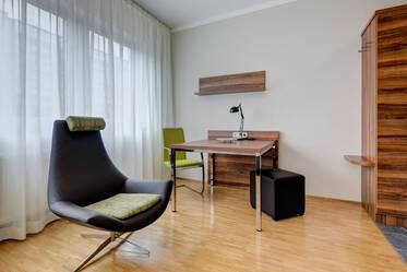 Ismaning, north of Munich - as new, furnished apartment on the first floor