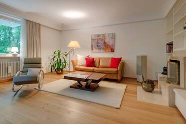 Prime location Menterschwaige: elegant apartment with pool and sauna